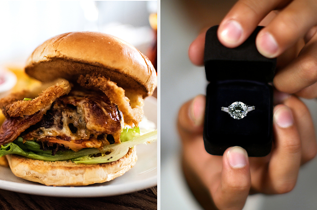 Eat Your Way Through The Day And We'll Reveal What Your Engagement Ring Will Look Like