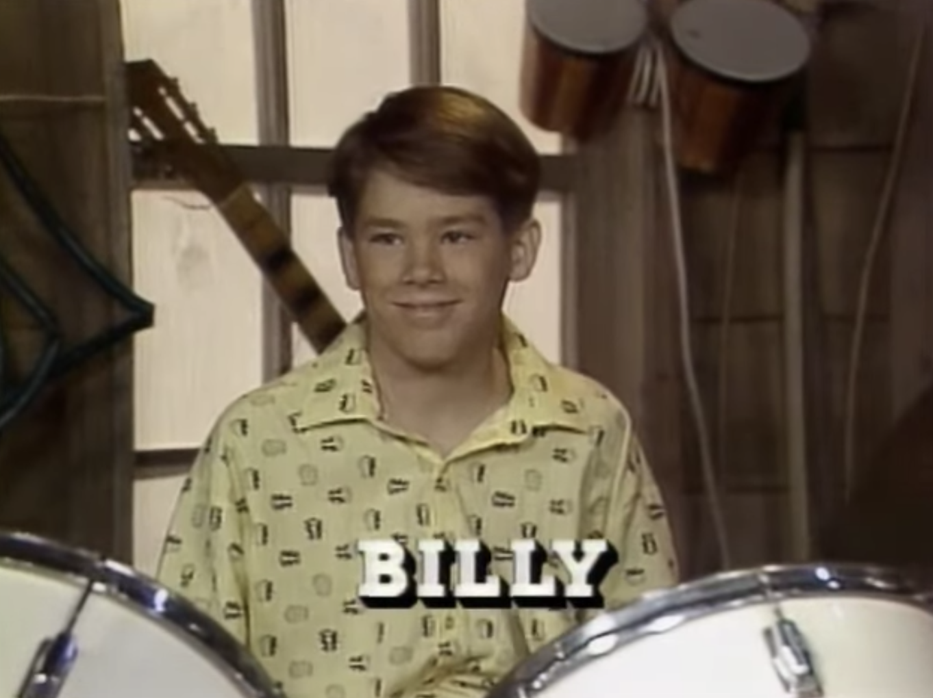 15-year-old Ryan Reynolds playing the drums on an early '90s sitcom