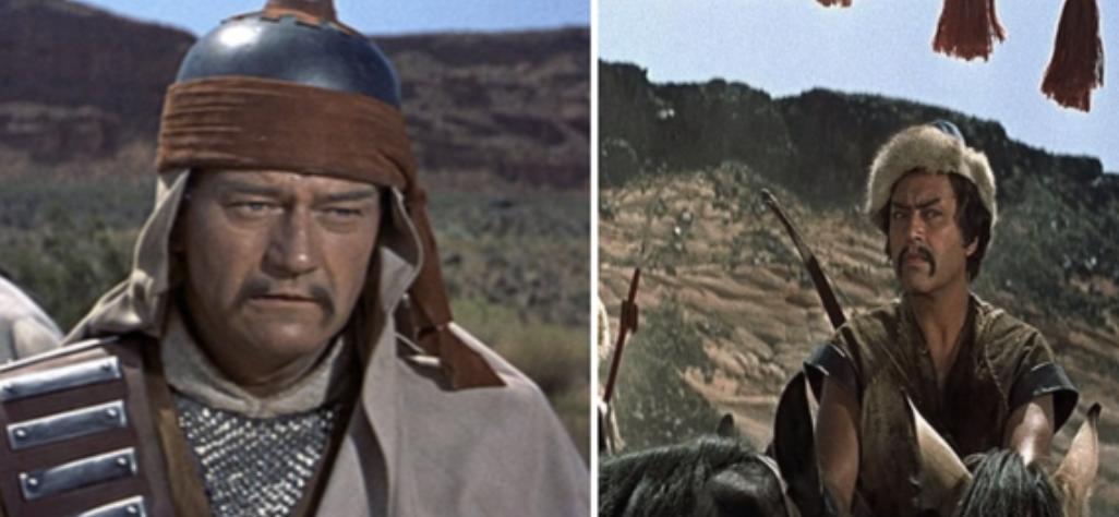 "John Wayne in ""The Conquerer"""