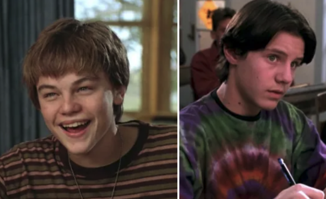 "Leo DiCaprio in ""What's Eating Gilbert Grape?"" and Omri Katz in ""Hocus Pocus"""