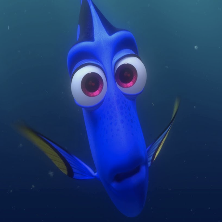 """Dory in """"Finding Nemo"""""""