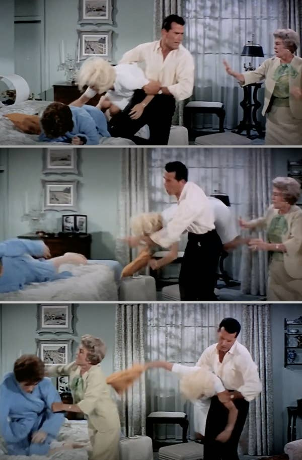 James Garner mengambil Doris Day dalam film