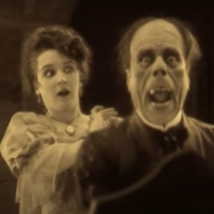Lon Chaney as the Phantom in the 1925 movie