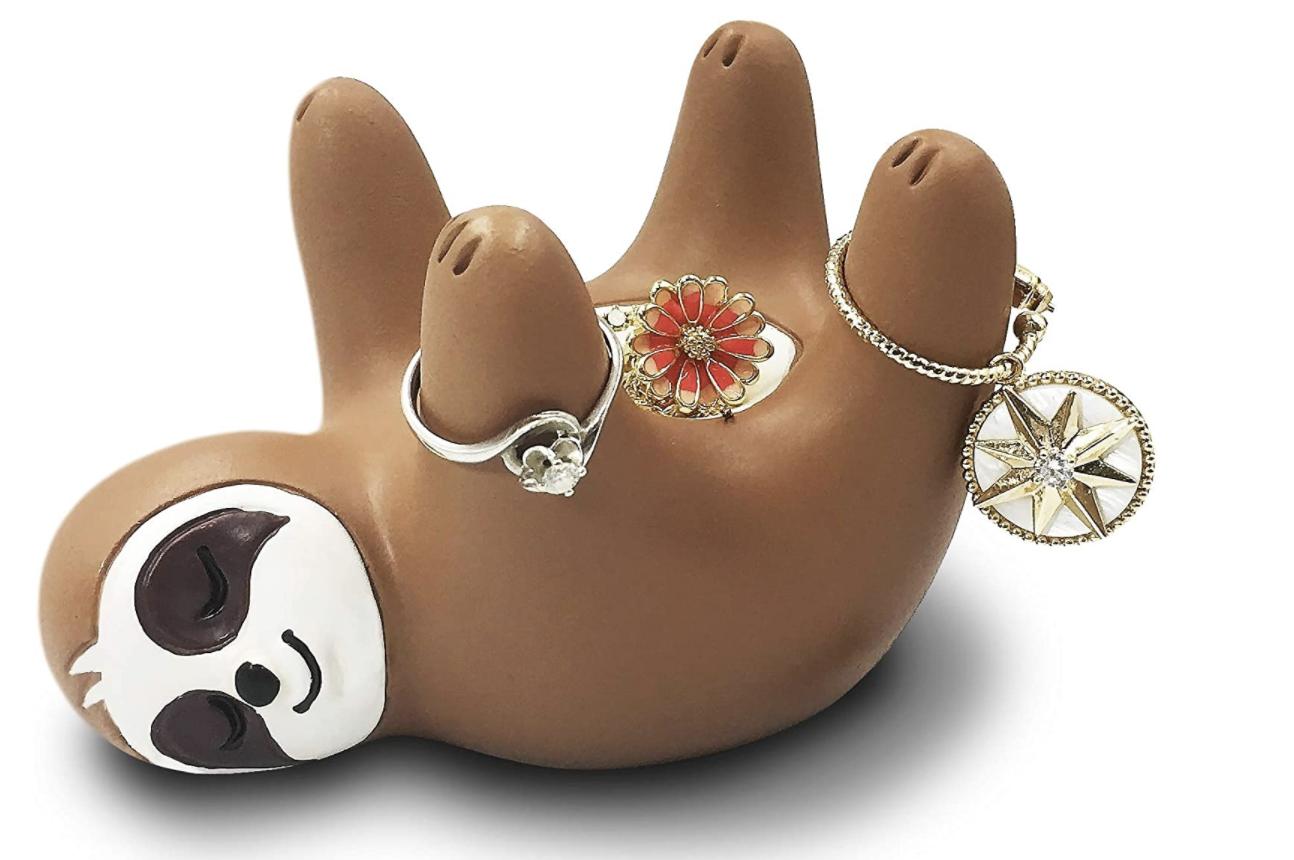 Sloth ring holder