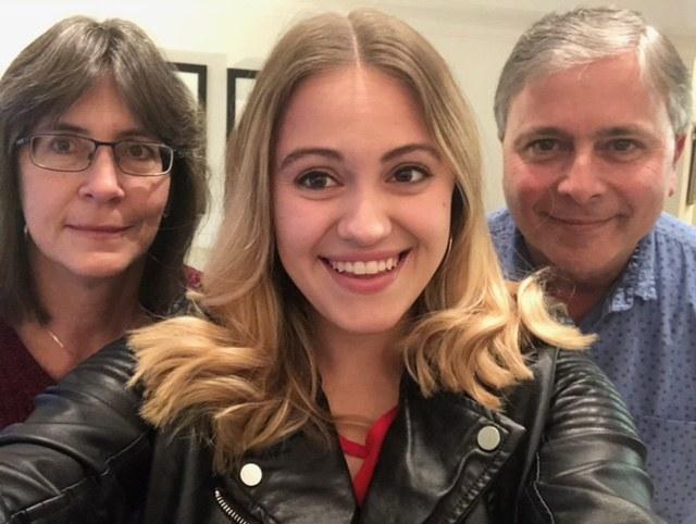 A family selfie