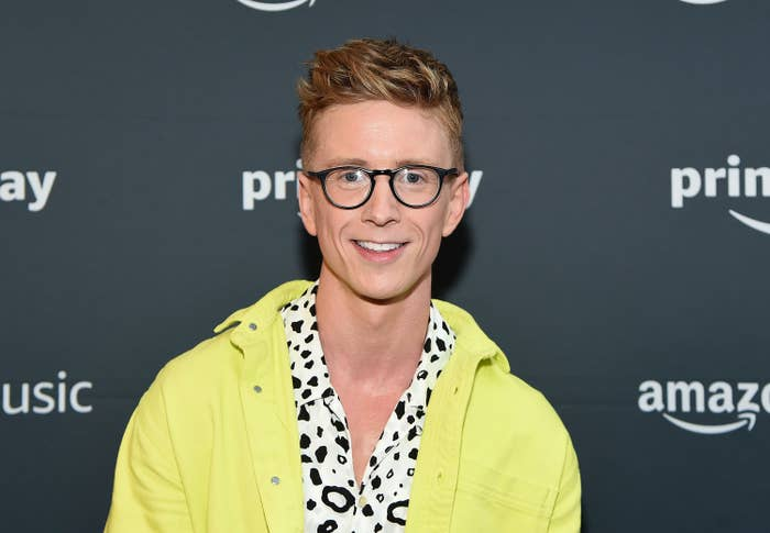 Tyler Oakley attends the 2019 Amazon Prime Day Concert on July 10, 2019 in New York City