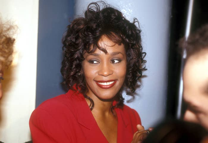 Whitney Houston at the Various in Los Angeles, California