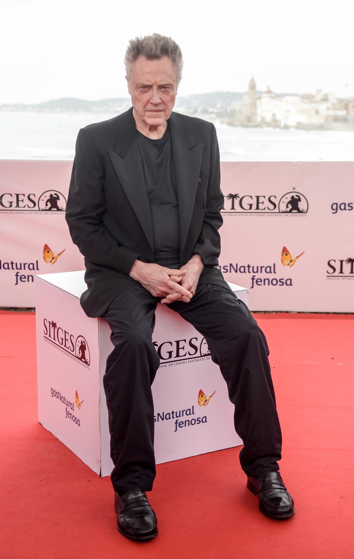 Actor Christopher Walken.