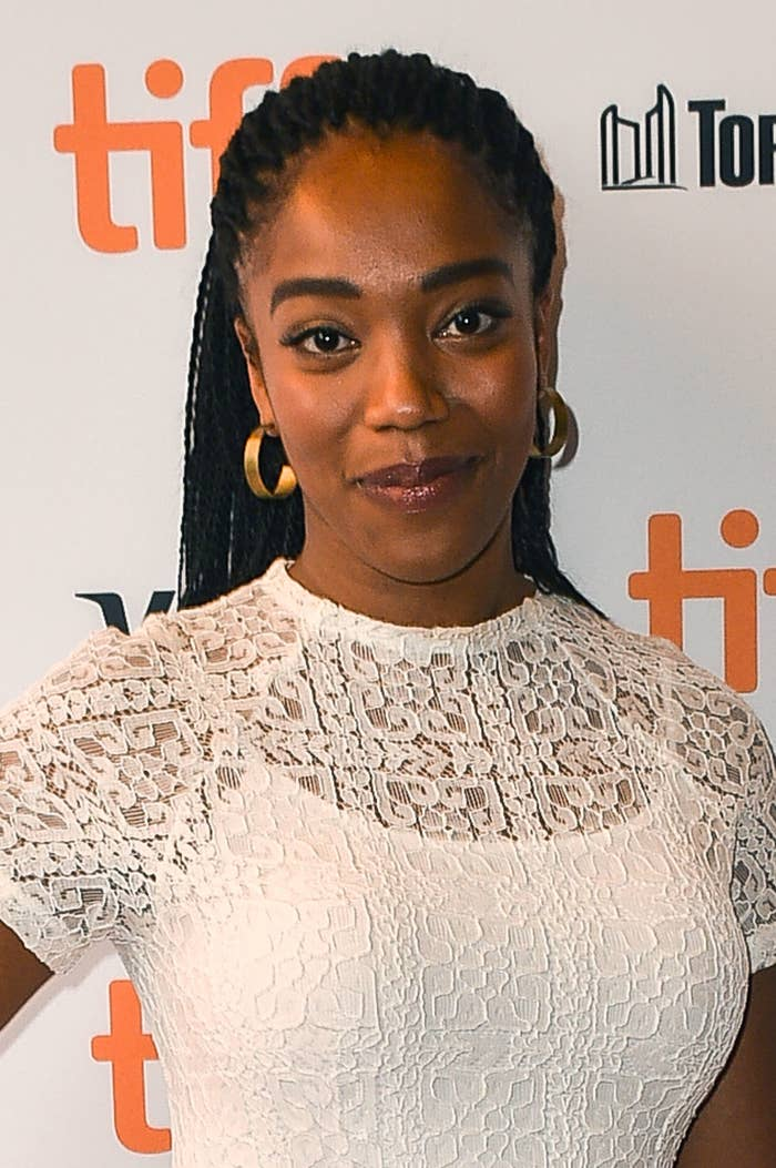 "Actress Naomi Ackie attends ""Lady Macbeth"" premiere during 2016 Toronto International Film Festival at Winter Garden Theatre on September 9, 2016 in Toronto, Canada"