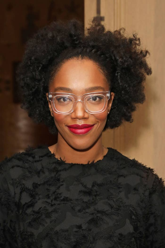 Naomi Ackie attends The Casting Awards 2020 at The Ham Yard Hotel on February 11, 2020 in London, England