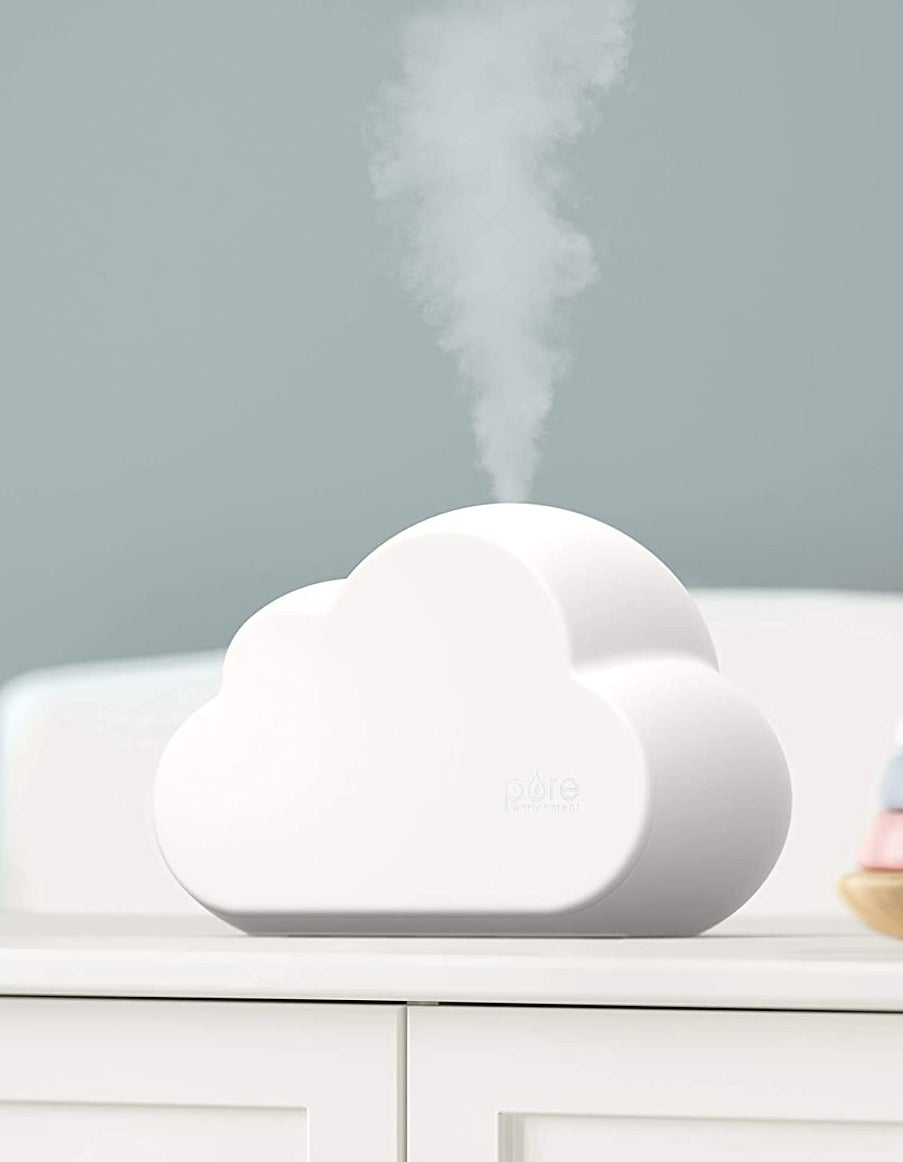 the humidifier blowing up mist