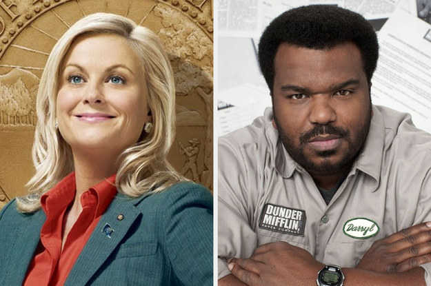 """Leslie Knope from """"Parks and Rec"""" and Darryl Philbin from """"The Office"""""""