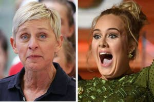 Ellen and Adele