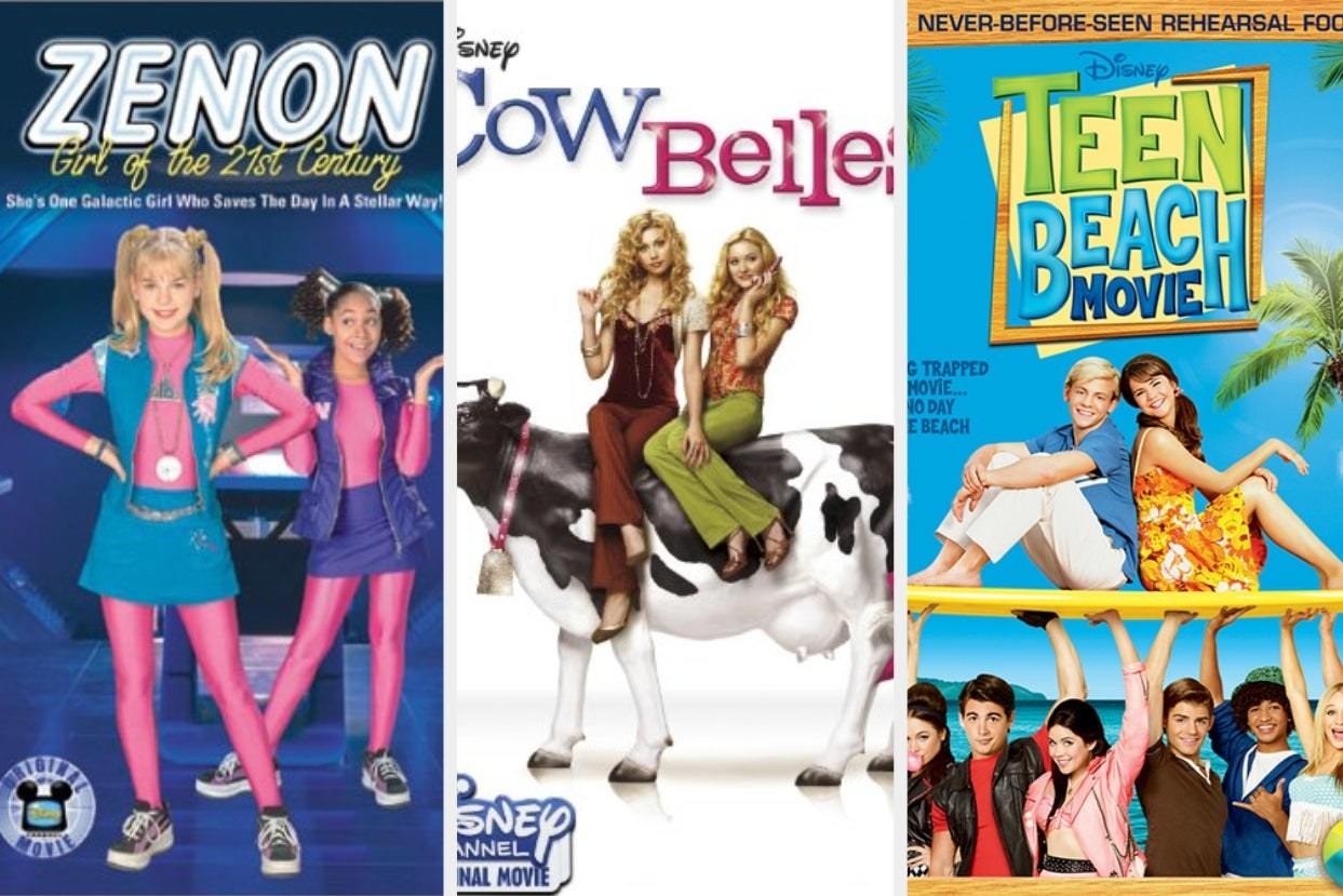 Zenon Girl of the 21st Century, Cow Belles, and Teen Beach Movie