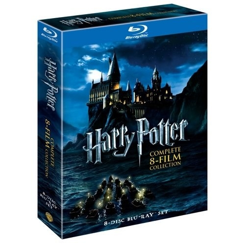 harry potter complete 8-film collection blu-ray set