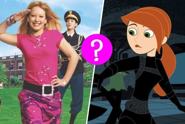 Cadet Kelly and Kim Possible with a question mark in between