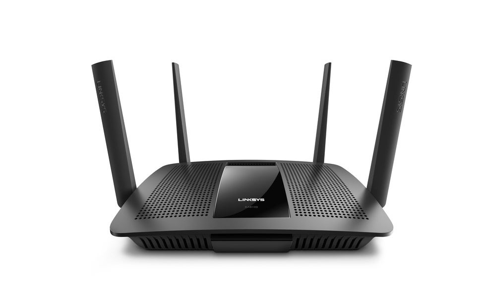 black linksys router