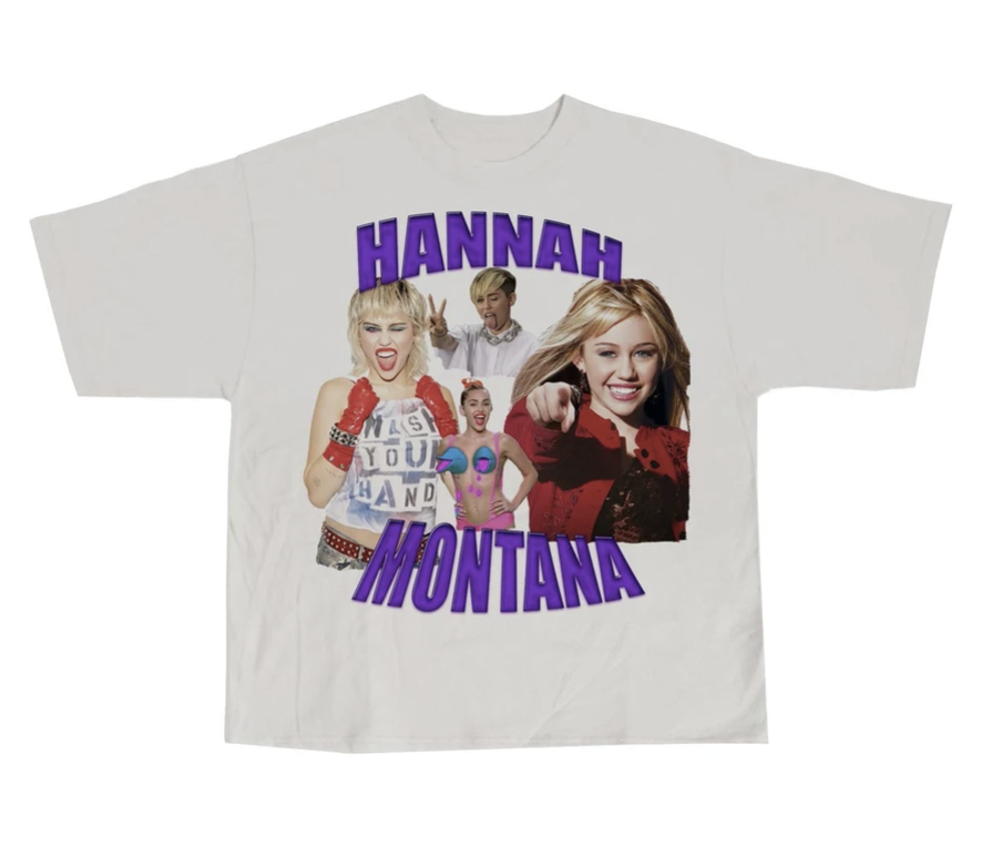 the Hannah Montana shirt Sophie was wearing