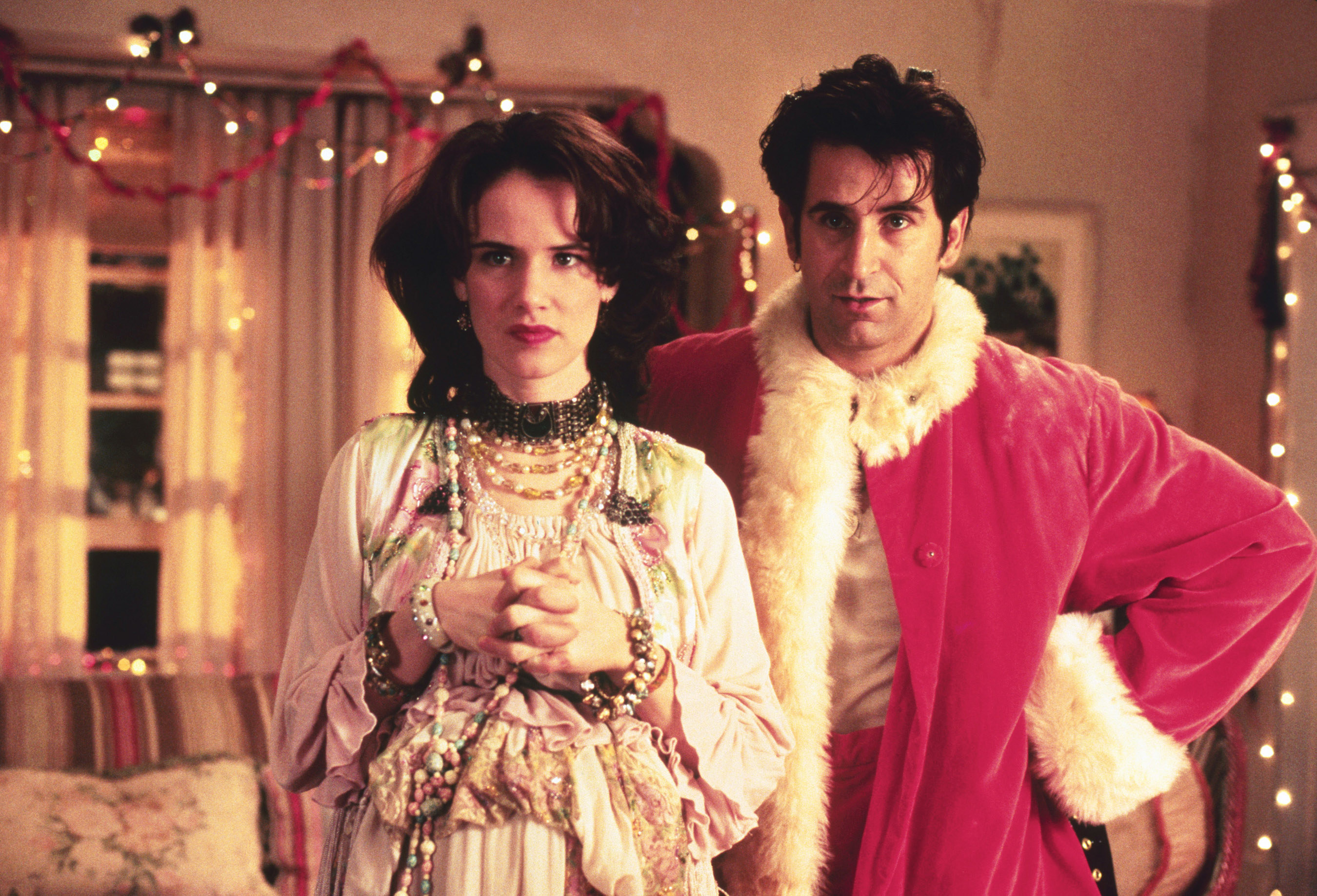 """Juliette Lewis and Anthony La Paglia in """"Mixed Nuts"""""""