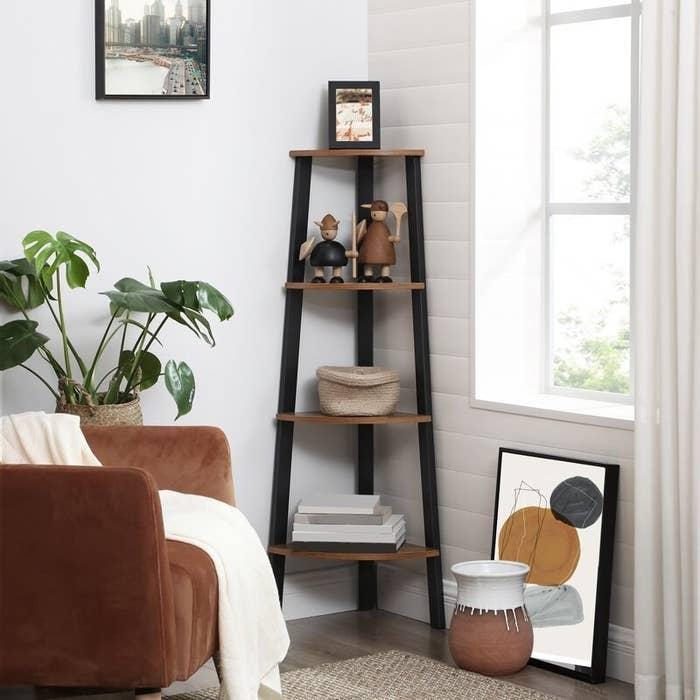 The four-level shelf