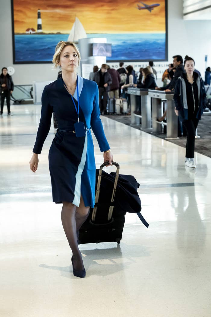 Haley Cuoco in The Flight Attendant