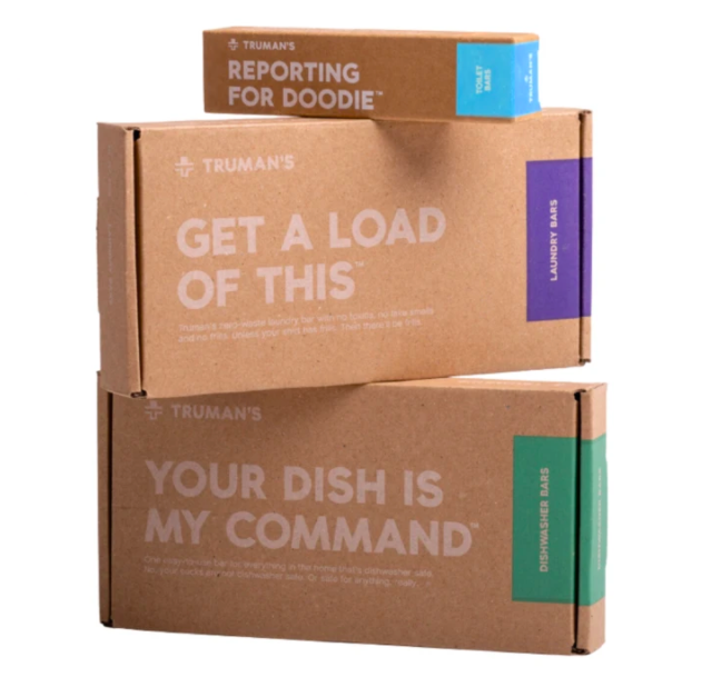 The Reporting For Doodie, Get a Load of this, and Your Dish Is My Command cleaning kits