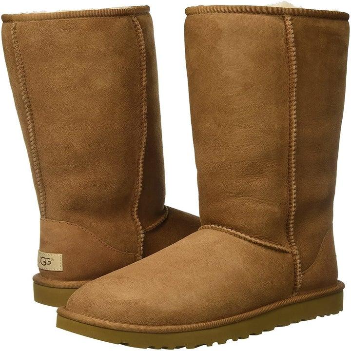 tall chestnut ugg boots