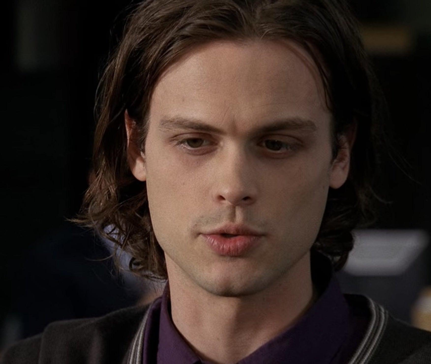 Spencer Reid from Criminal Minds talking