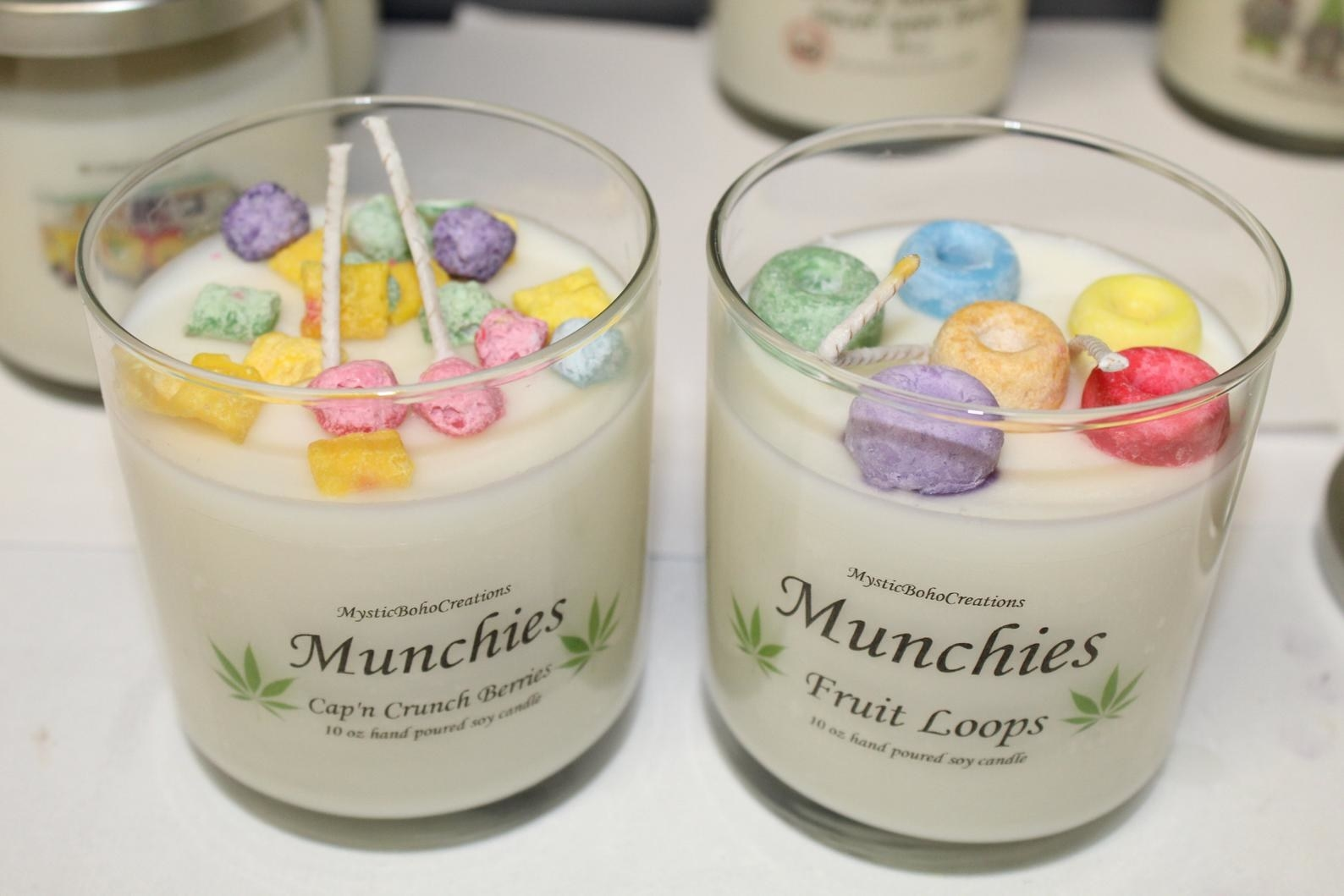 """""""Munchies"""" candles"""
