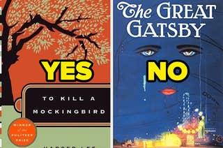 To Kill A Mockingbird labeled