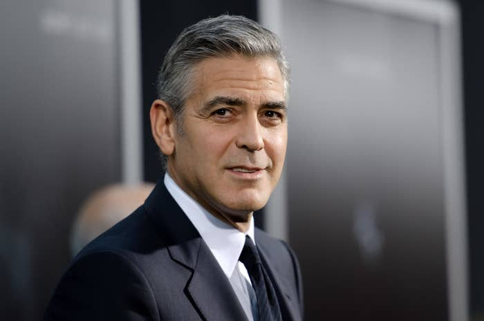 """George Clooney attends the """"Gravity"""" New York premiere"""