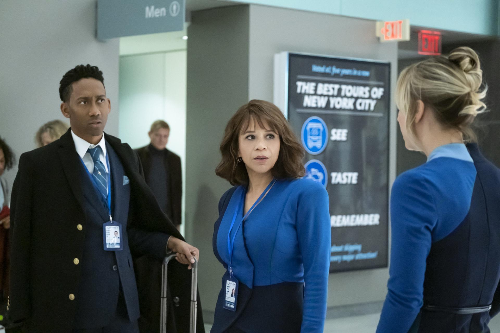 Rosie Perez in The Flight Attendant