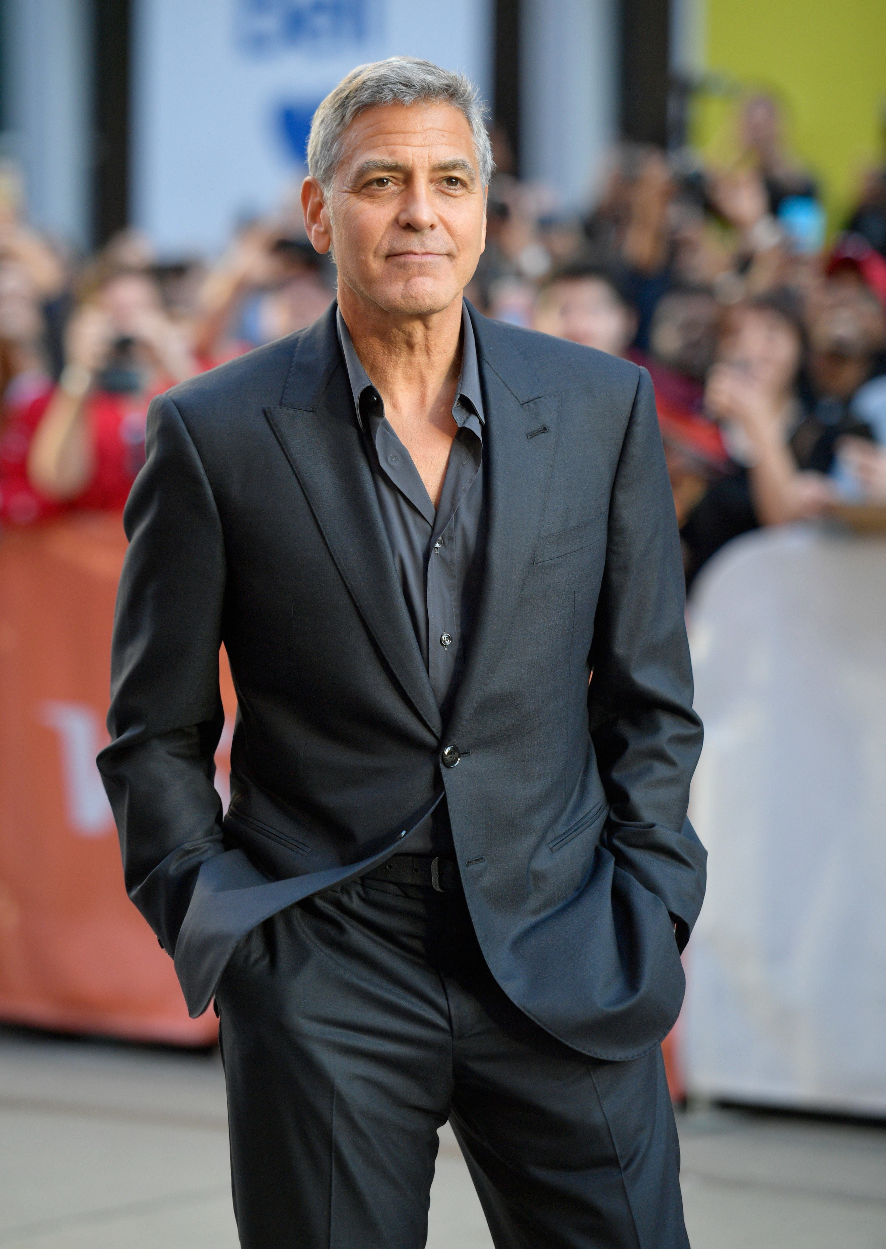 """George Clooney attends the premiere of """"Suburbicon"""""""