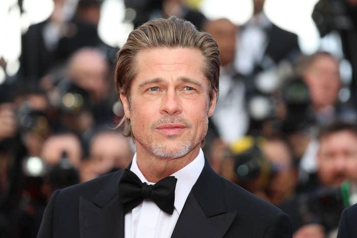 US actor Brad Pitt