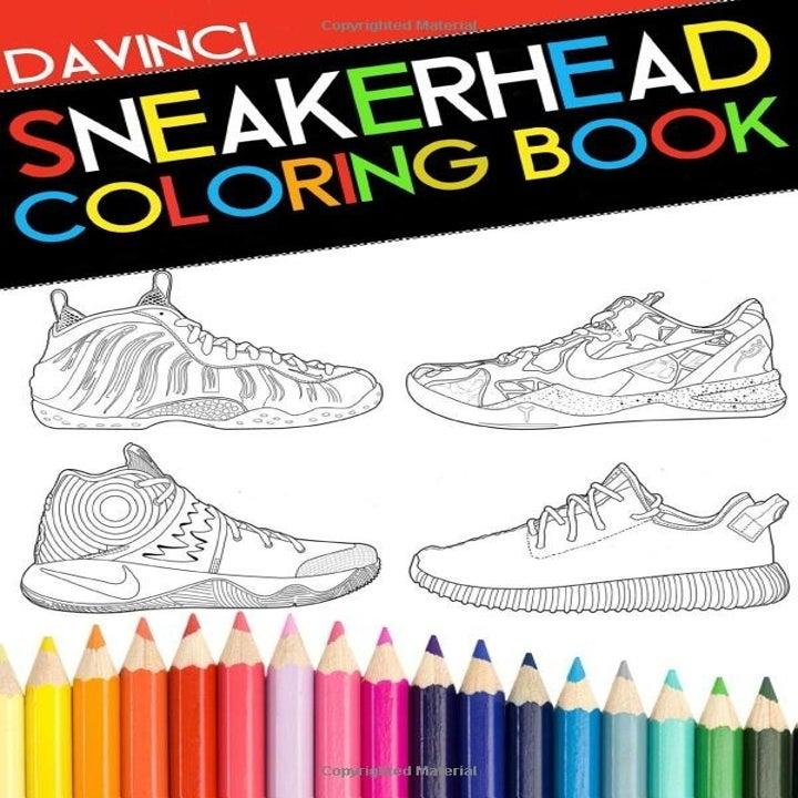 the sneakerhead coloring book