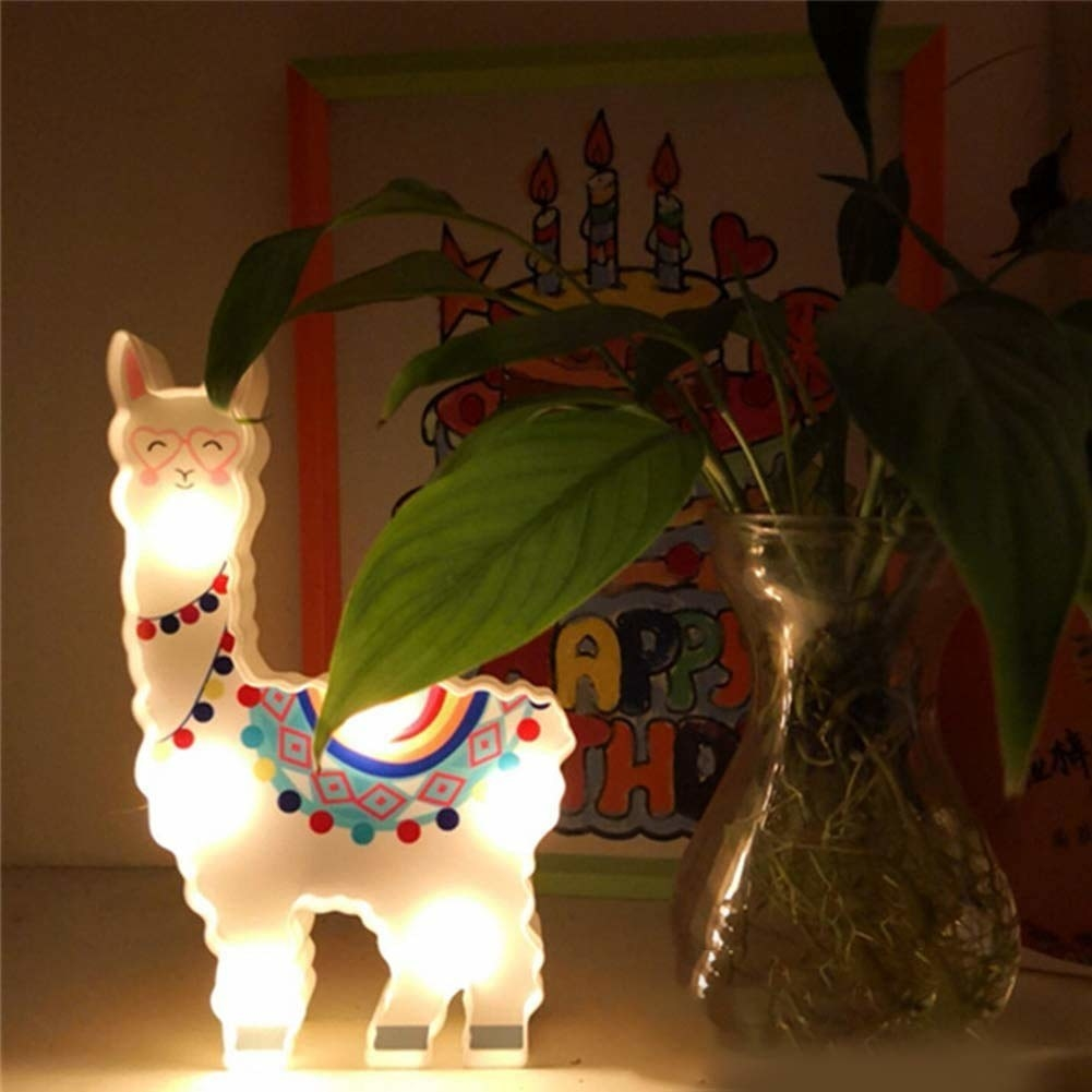 Alpaca LED light
