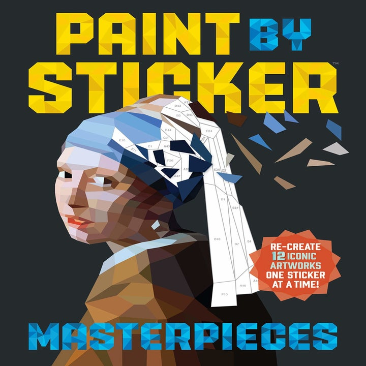 cover of the paint by sticker book