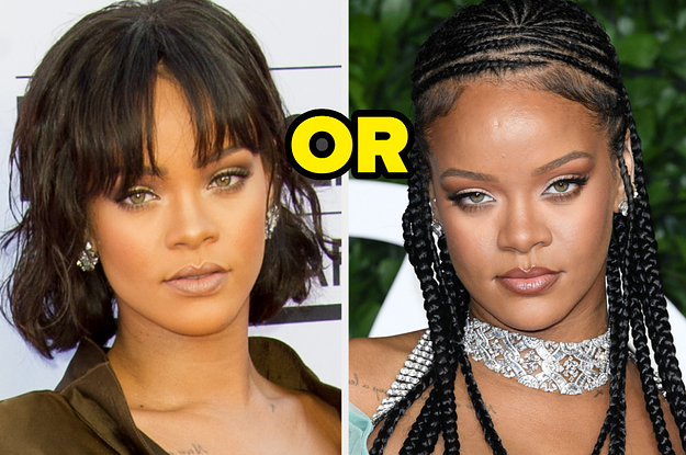 Here Are 15 Famous Women — Do You Prefer Their Hair With Or Without Bangs?