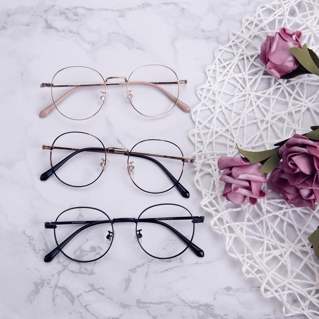 wire frame glasses in different colors