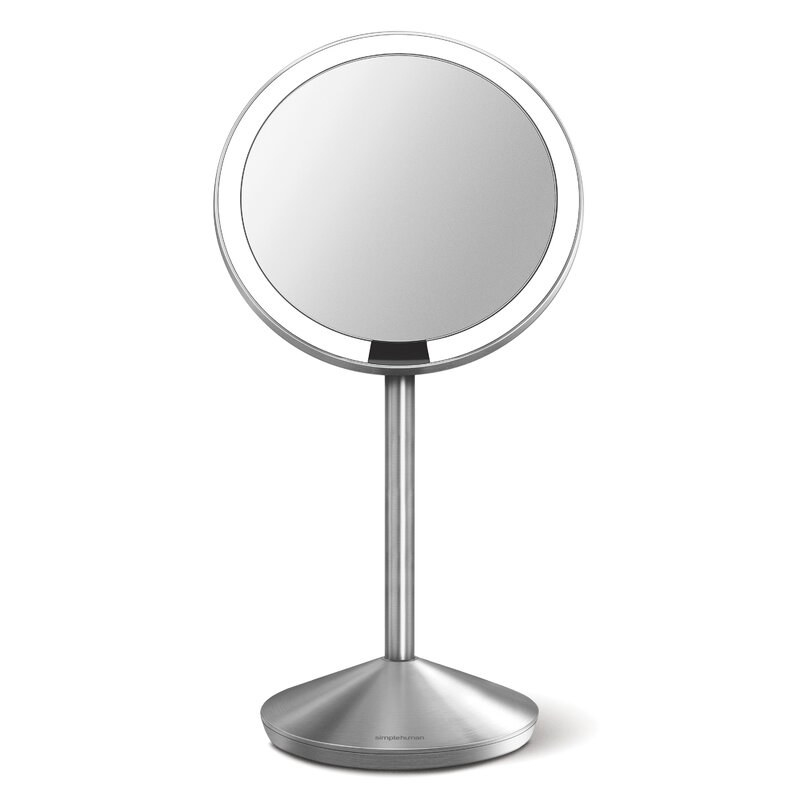 The magnifying mirror