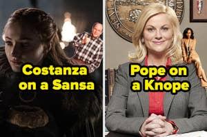 Sansa Stark and George Costanza to make
