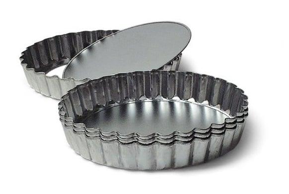 four mini tart pans