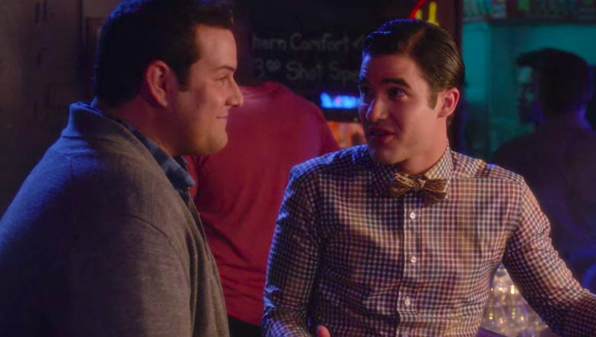 "Blaine and Karofsky in Season 6 of ""Glee"""