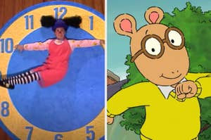 Loonette from the Big Comfy Couch and Arthur from Arthur