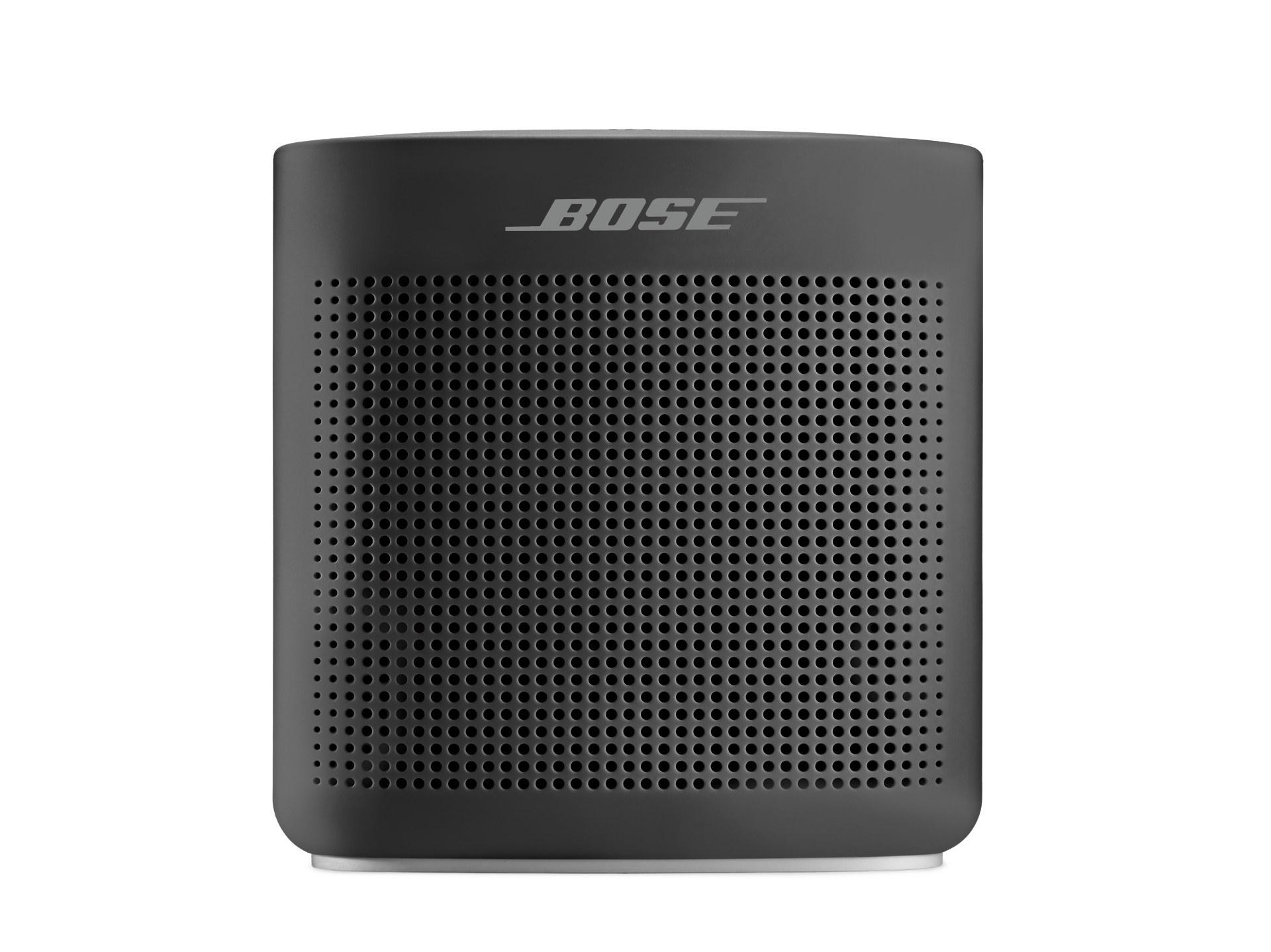 the speaker in black