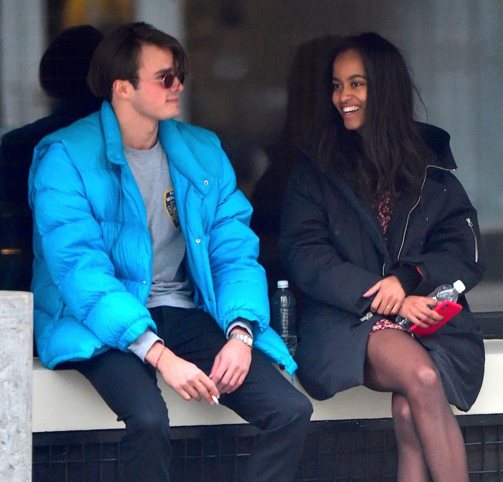 Malia and her boyfriend