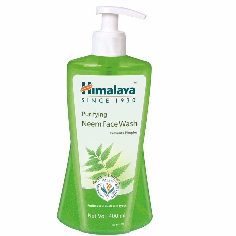 A neem face wash