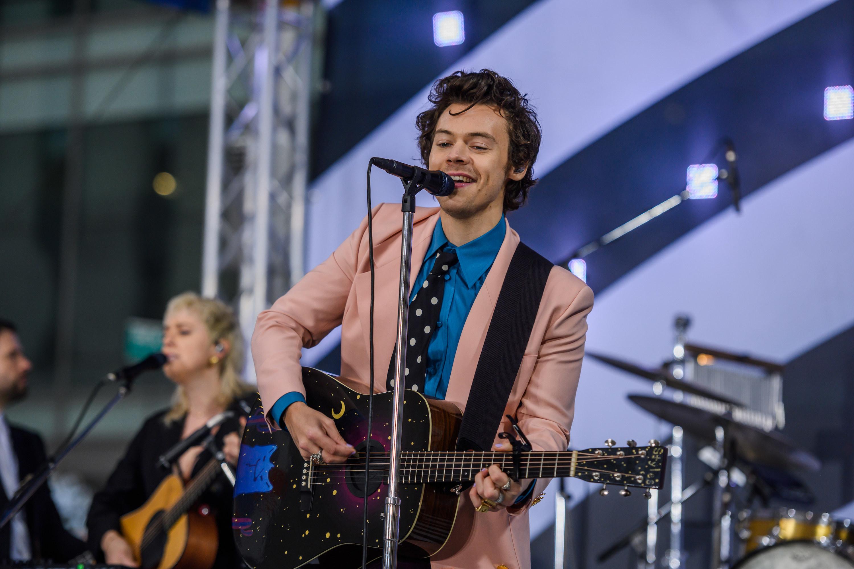 Harry Styles on Wednesday, February 26, 2020