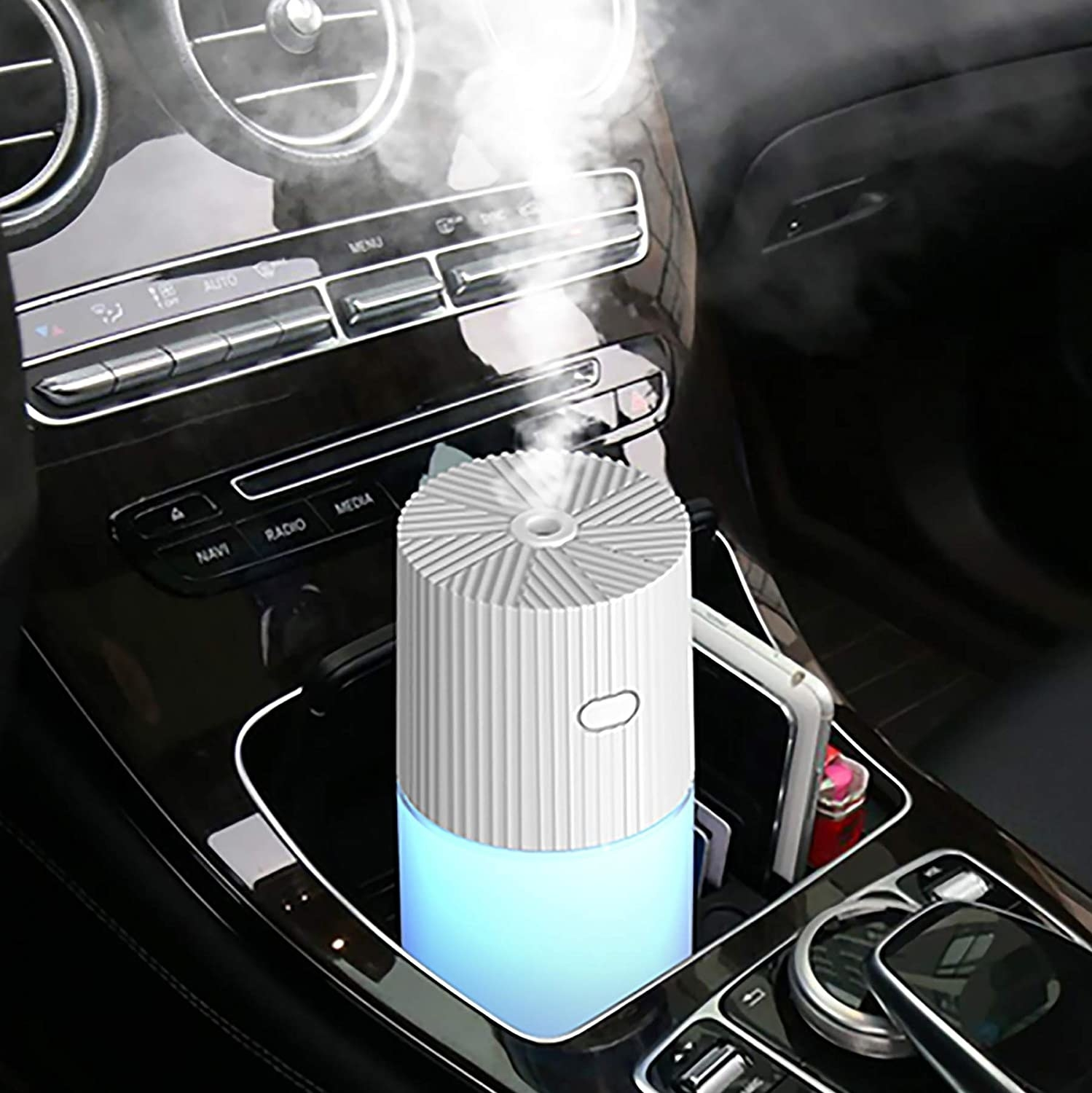 the blue car humidifier