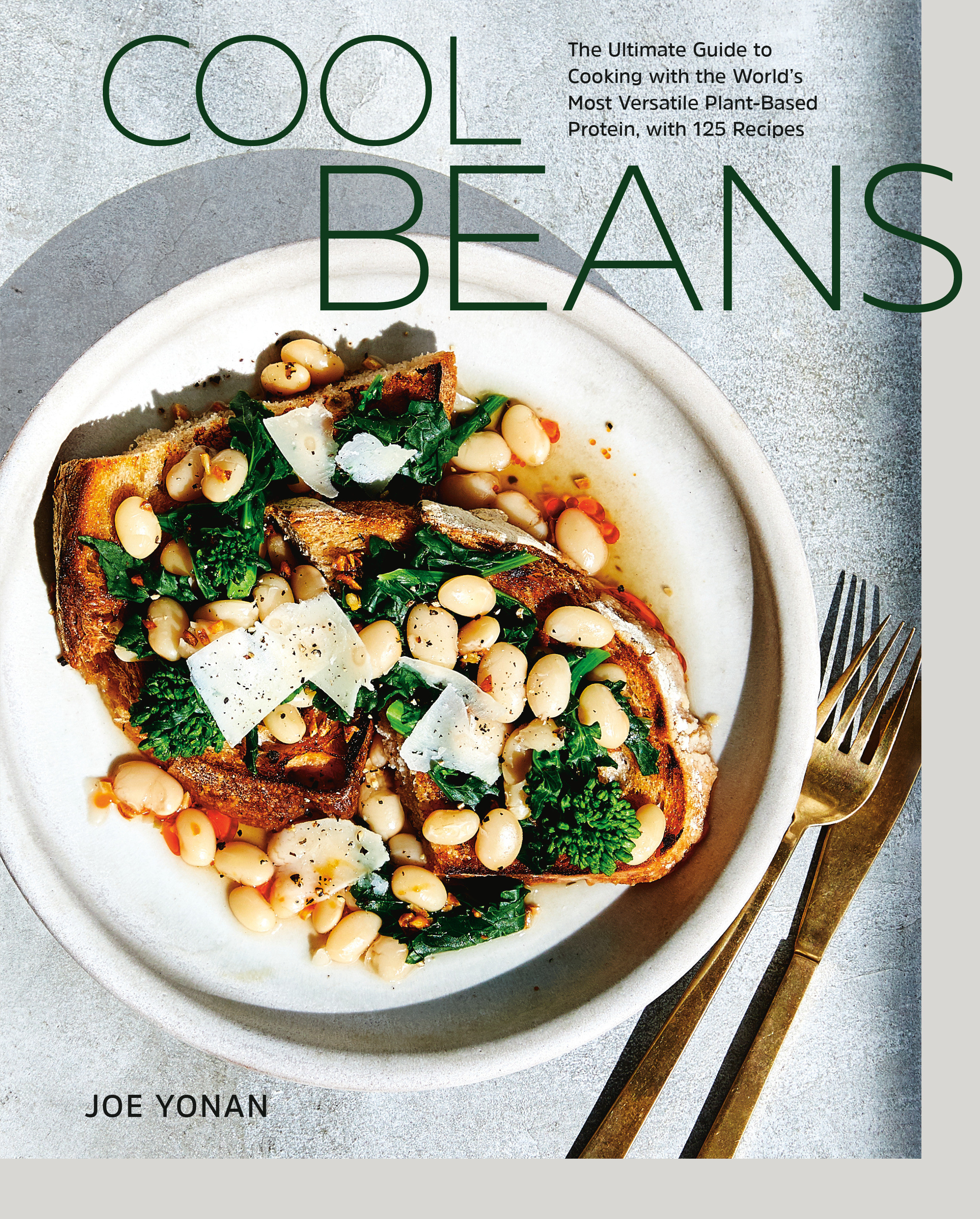 The cover of 'Cool Beans' by Joe Yonan